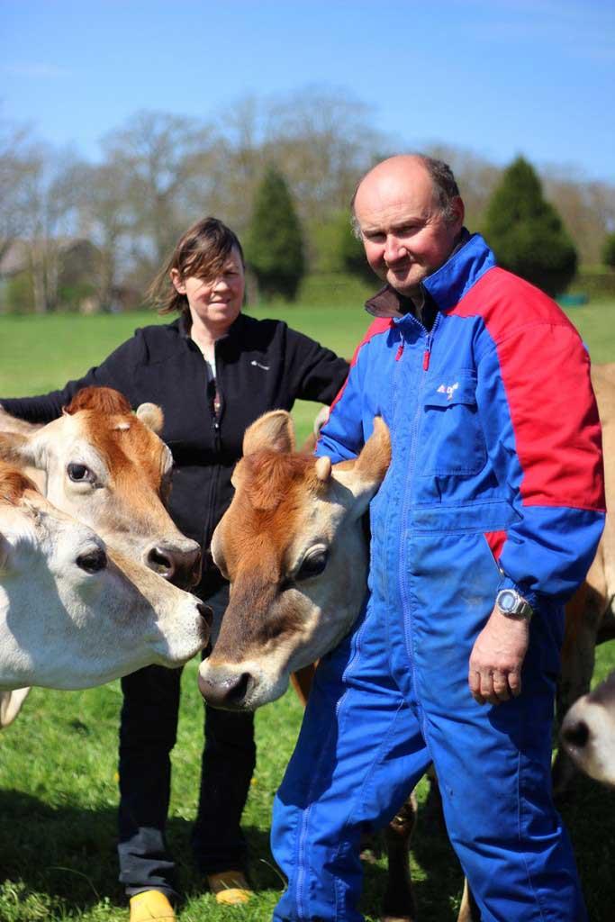 Annie, Jérôme et leurs vaches