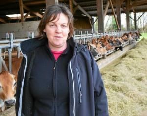 Annie Legoff mène avec son mari la ferme des Aulnays, à Évran.